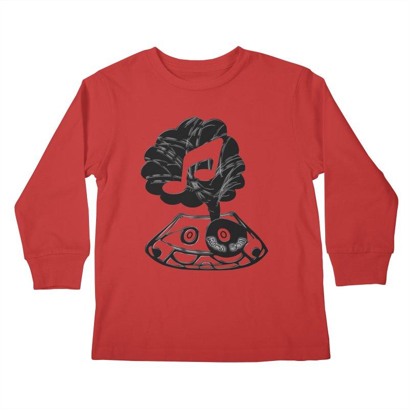 Rich Soil Kids Longsleeve T-Shirt by HUNDRED