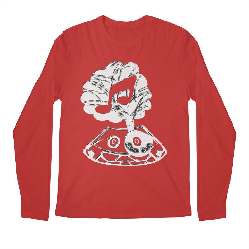 RICH SOIL BLK Men's Regular Longsleeve T-Shirt by HUNDRED