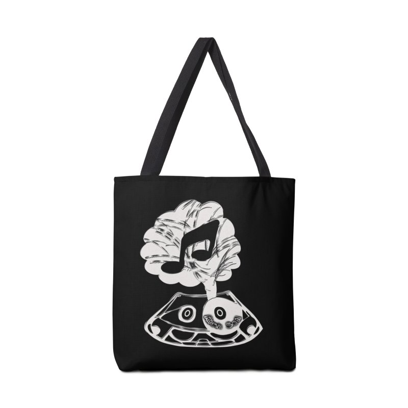 RICH SOIL BLK Accessories Tote Bag Bag by HUNDRED