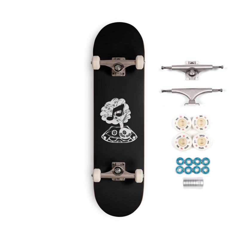 RICH SOIL BLK Accessories Complete - Premium Skateboard by HUNDRED