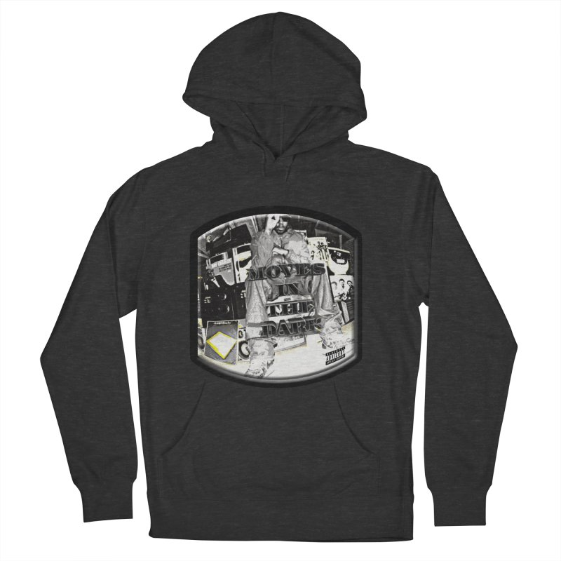 Moves In The Dark Men's French Terry Pullover Hoody by HUNDRED