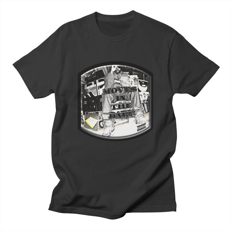 Moves In The Dark Men's Regular T-Shirt by HUNDRED