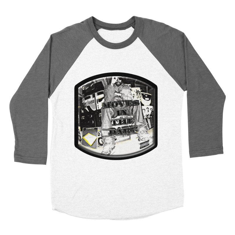 Moves In The Dark Women's Baseball Triblend Longsleeve T-Shirt by HUNDRED