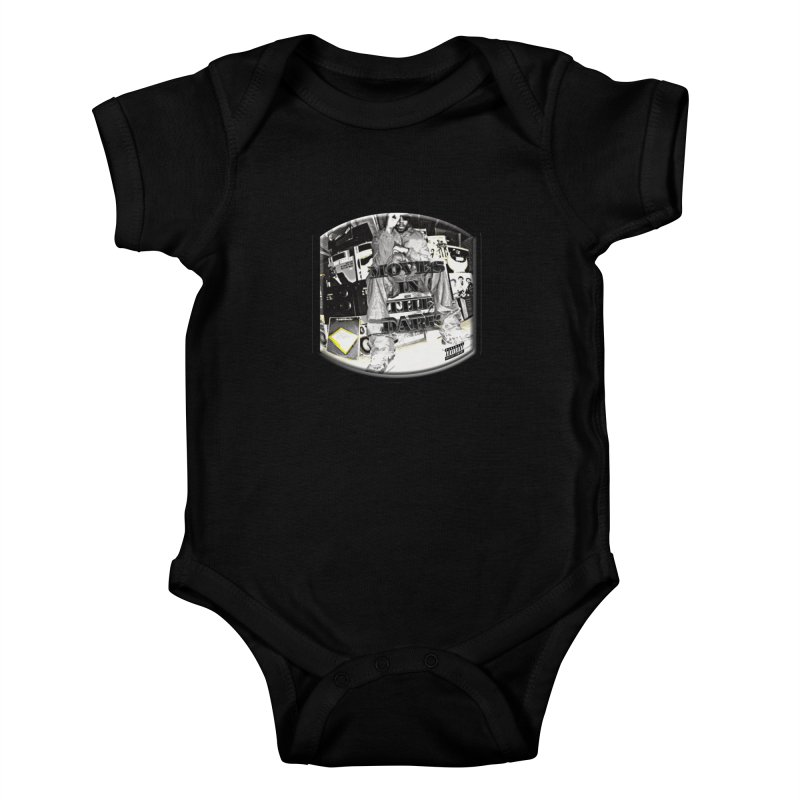 Moves In The Dark Kids Baby Bodysuit by HUNDRED