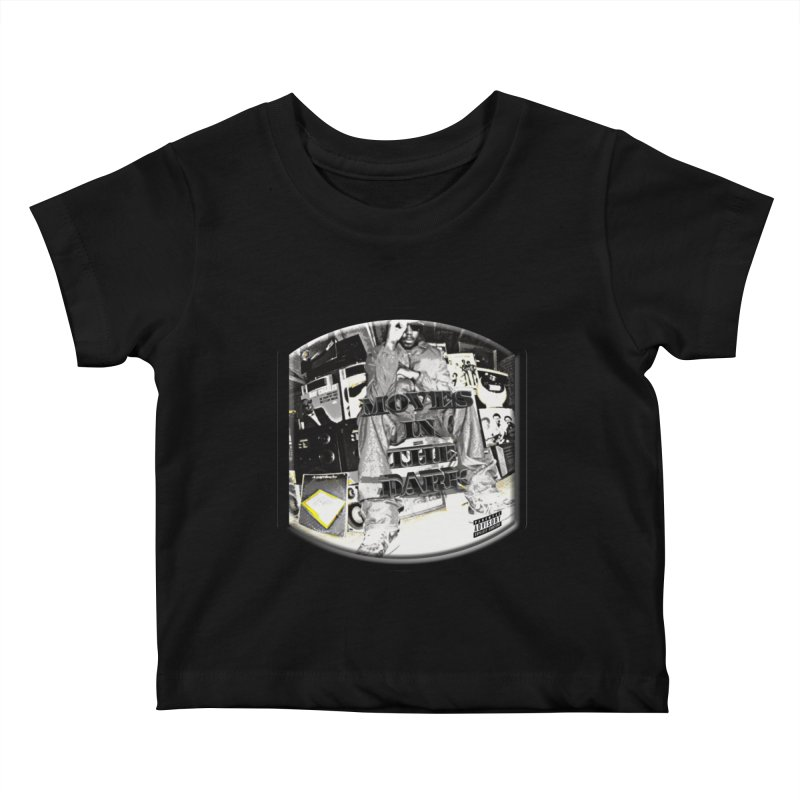 Moves In The Dark Kids Baby T-Shirt by HUNDRED