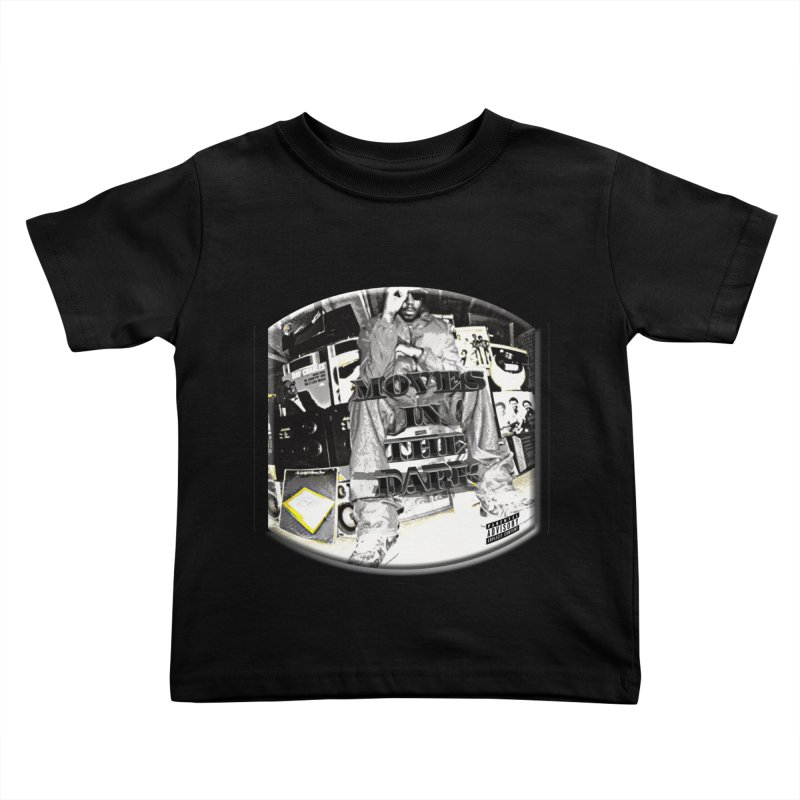 Moves In The Dark Kids Toddler T-Shirt by HUNDRED