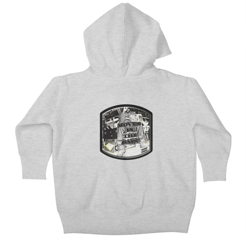 Moves In The Dark Kids Baby Zip-Up Hoody by HUNDRED