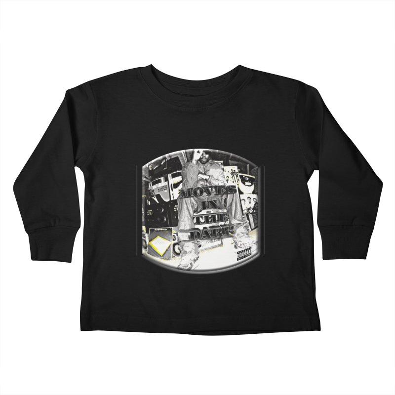 Moves In The Dark Kids Toddler Longsleeve T-Shirt by HUNDRED