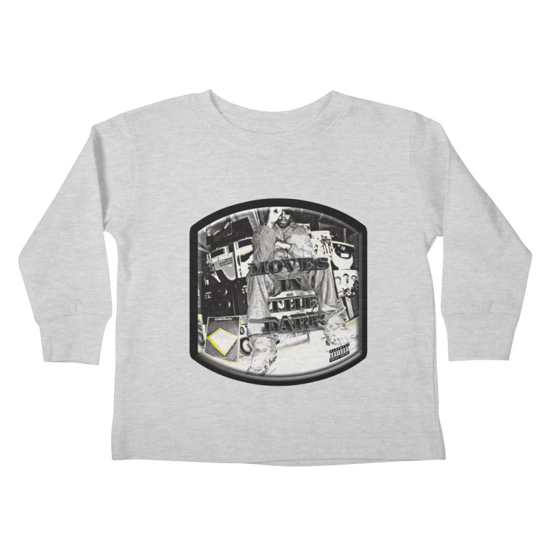 Moves In The Dark Kids Toddler Longsleeve T-Shirt by HUNDRED