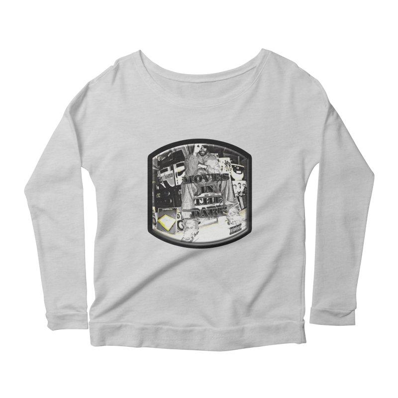 Moves In The Dark Women's Scoop Neck Longsleeve T-Shirt by HUNDRED