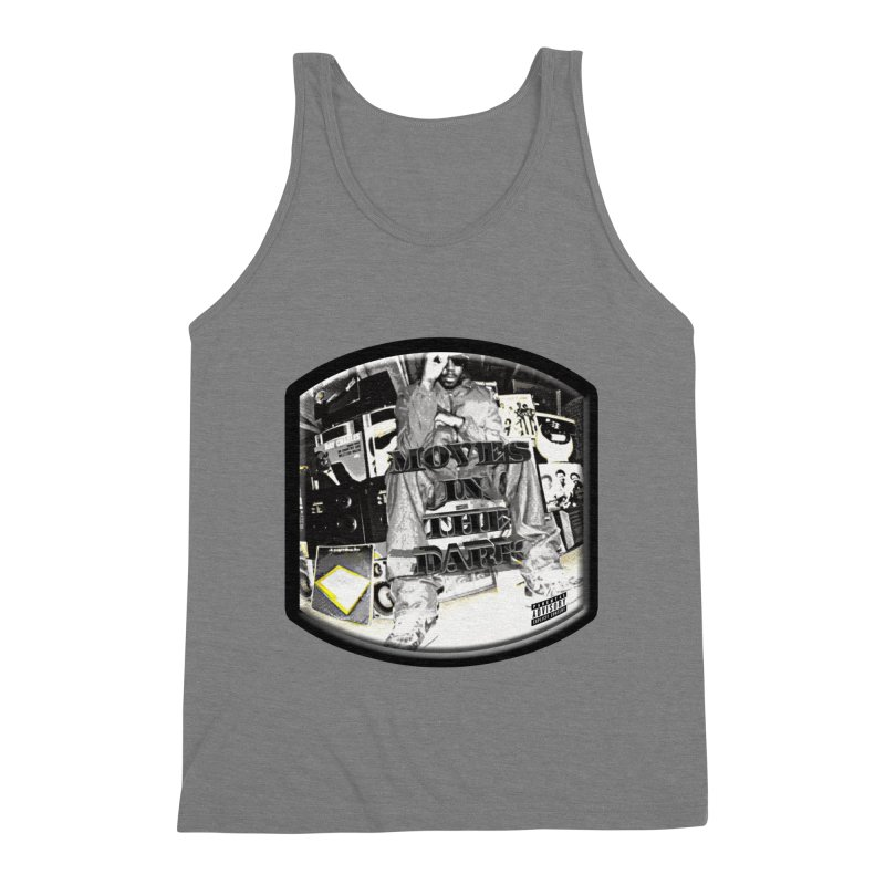 Moves In The Dark Men's Triblend Tank by HUNDRED