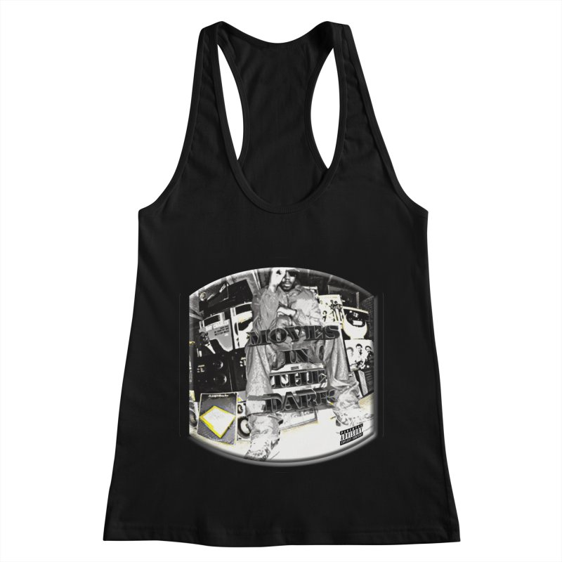 Moves In The Dark Women's Racerback Tank by HUNDRED