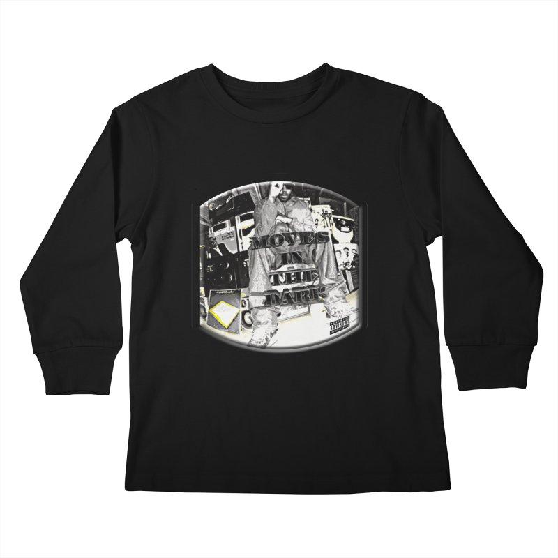Moves In The Dark Kids Longsleeve T-Shirt by HUNDRED