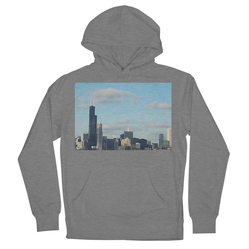 00 IllState Of Mind-Chi 94 Willis Tower Women's French Terry Pullover Hoody by HUNDRED