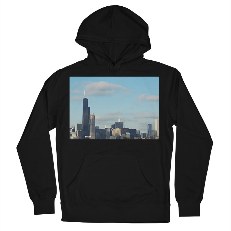 00 IllState Of Mind-Chi 94 Willis Tower Men's French Terry Pullover Hoody by HUNDRED