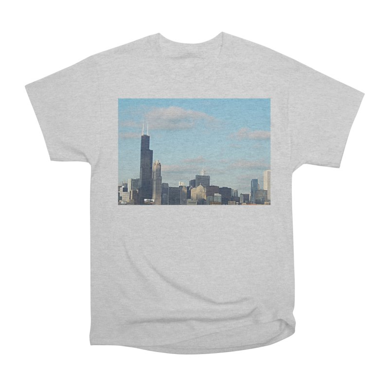 00 IllState Of Mind-Chi 94 Willis Tower Men's Heavyweight T-Shirt by HUNDRED