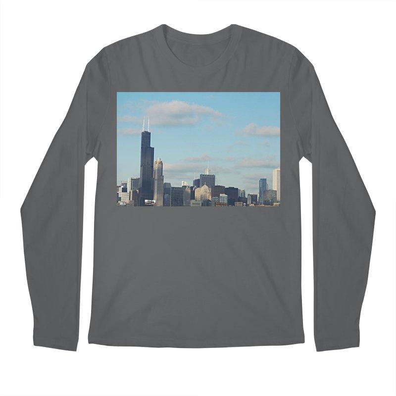 00 IllState Of Mind-Chi 94 Willis Tower Men's Regular Longsleeve T-Shirt by HUNDRED