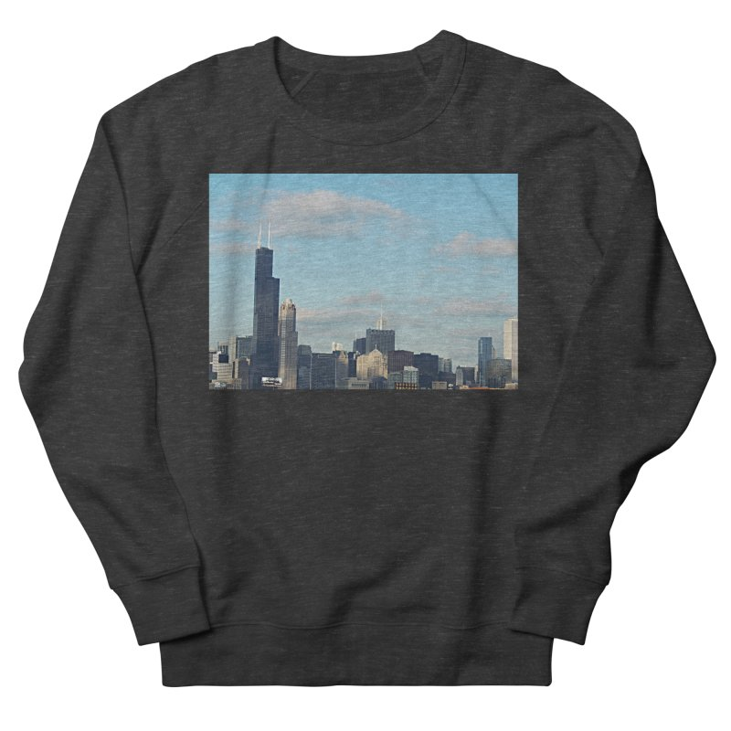 00 IllState Of Mind-Chi 94 Willis Tower Women's French Terry Sweatshirt by HUNDRED