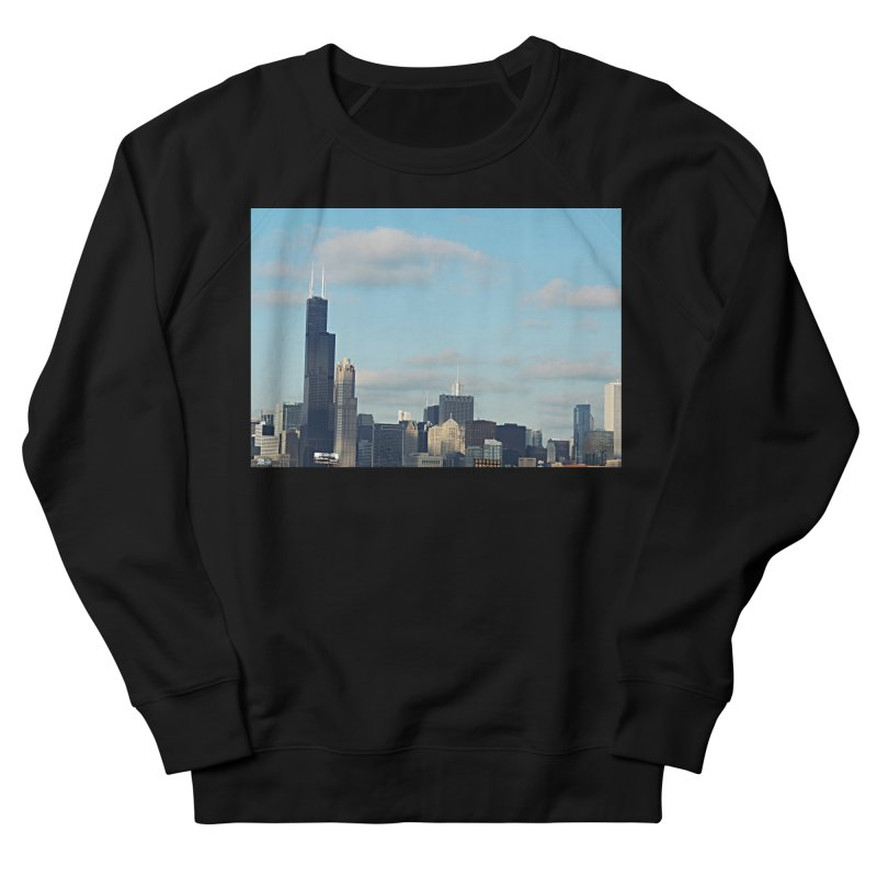 00 IllState Of Mind-Chi 94 Willis Tower Men's French Terry Sweatshirt by HUNDRED