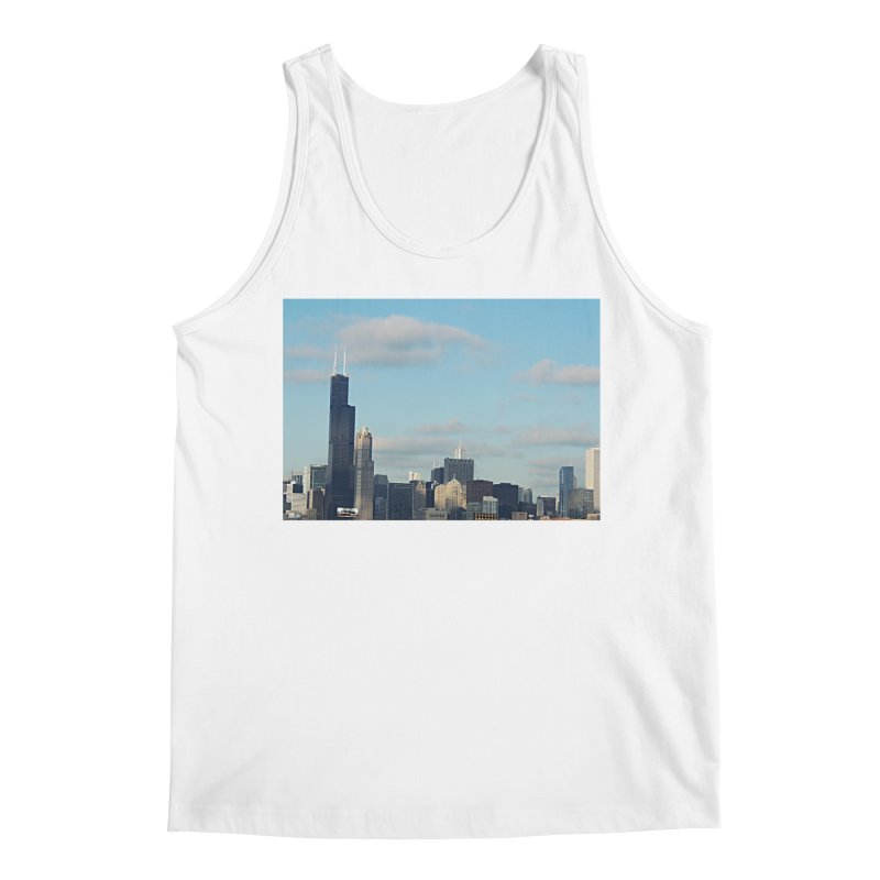 00 IllState Of Mind-Chi 94 Willis Tower Men's Regular Tank by HUNDRED