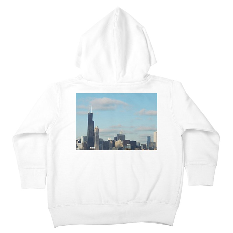 00 IllState Of Mind-Chi 94 Willis Tower Kids Toddler Zip-Up Hoody by HUNDRED
