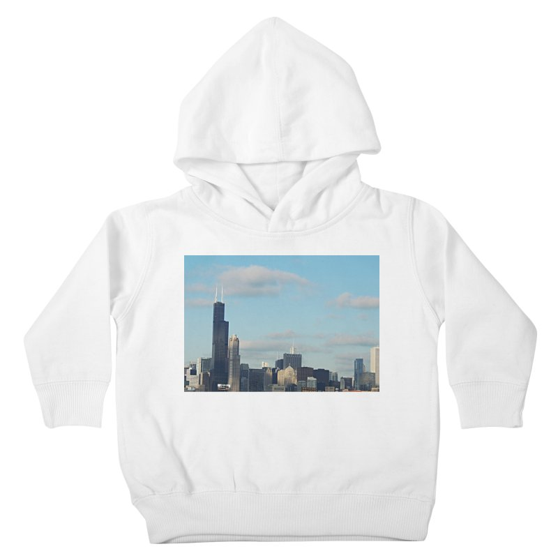 00 IllState Of Mind-Chi 94 Willis Tower Kids Toddler Pullover Hoody by HUNDRED