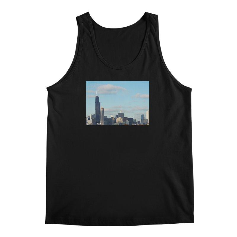 00 IllState Of Mind-Chi 94 Willis Tower Men's Regular Tank by HUNDRED