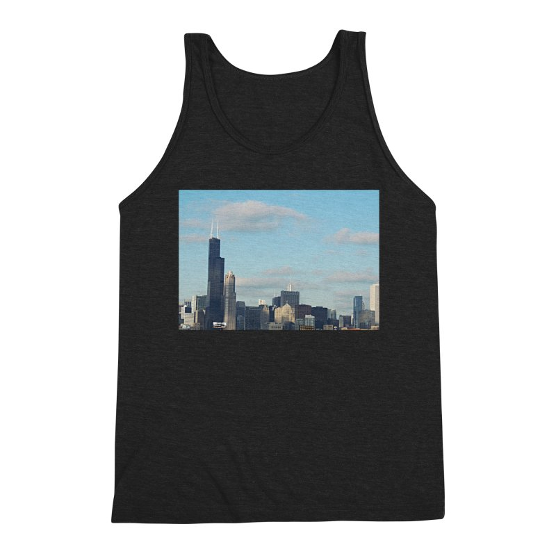00 IllState Of Mind-Chi 94 Willis Tower Men's Triblend Tank by HUNDRED