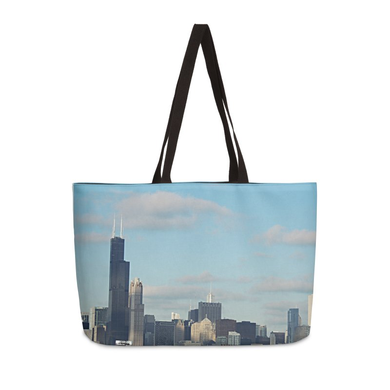 00 IllState Of Mind-Chi 94 Willis Tower Accessories Weekender Bag Bag by HUNDRED