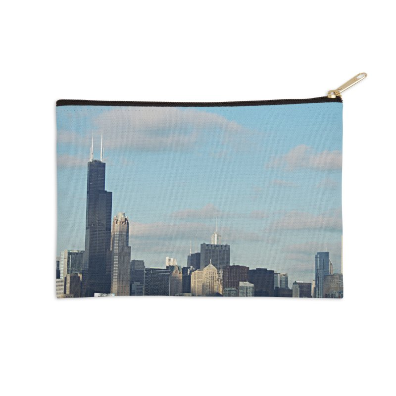 00 IllState Of Mind-Chi 94 Willis Tower Accessories Zip Pouch by HUNDRED