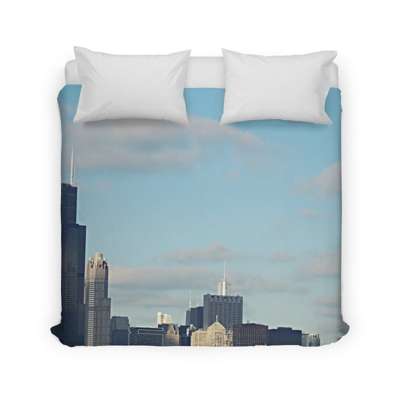 00 IllState Of Mind-Chi 94 Willis Tower Home Duvet by HUNDRED