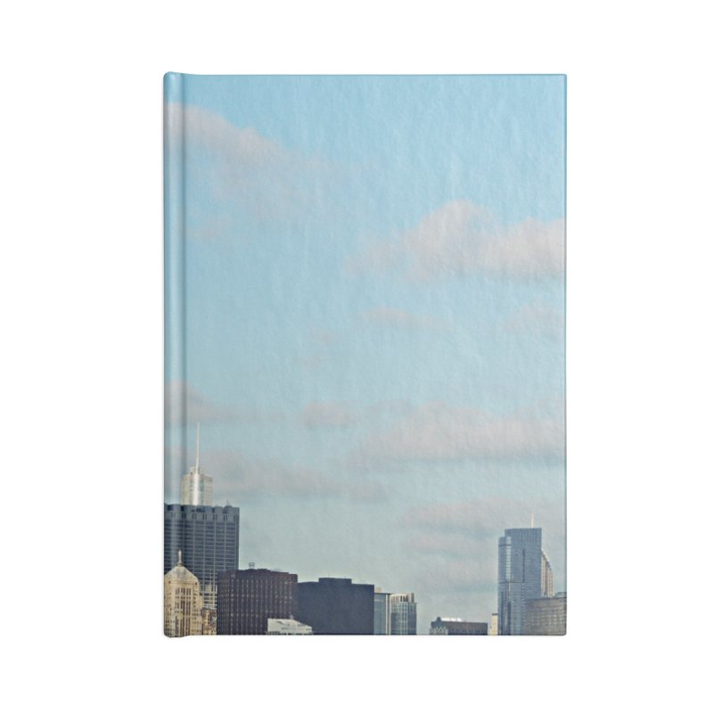 00 IllState Of Mind-Chi 94 Willis Tower Accessories Lined Journal Notebook by HUNDRED