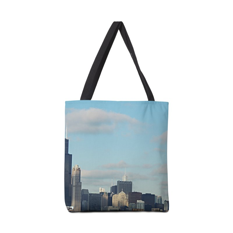 00 IllState Of Mind-Chi 94 Willis Tower Accessories Tote Bag Bag by HUNDRED