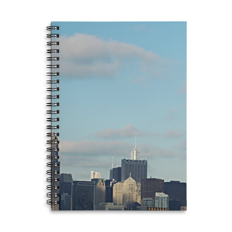 00 IllState Of Mind-Chi 94 Willis Tower Accessories Lined Spiral Notebook by HUNDRED