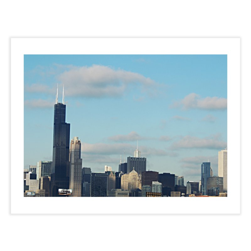 00 IllState Of Mind-Chi 94 Willis Tower Home Fine Art Print by HUNDRED