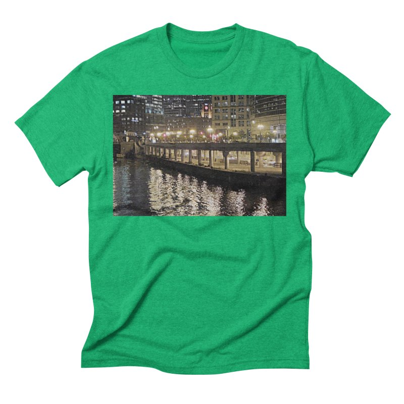 00 IllState Of Mind Lower Wack Men's Triblend T-Shirt by HUNDRED