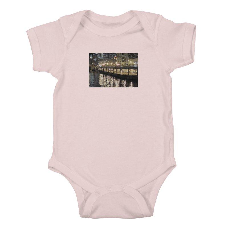 00 IllState Of Mind Lower Wack Kids Baby Bodysuit by HUNDRED