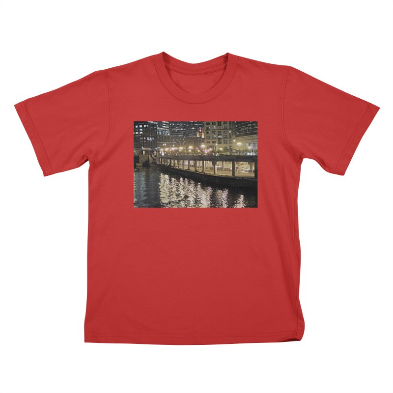 00 IllState Of Mind Lower Wack Kids T-Shirt by HUNDRED