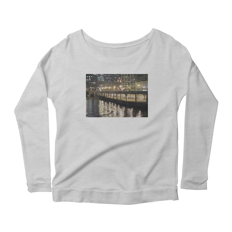 00 IllState Of Mind Lower Wack Women's Scoop Neck Longsleeve T-Shirt by HUNDRED