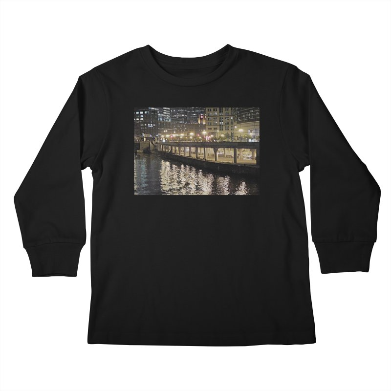 00 IllState Of Mind Lower Wack Kids Longsleeve T-Shirt by HUNDRED
