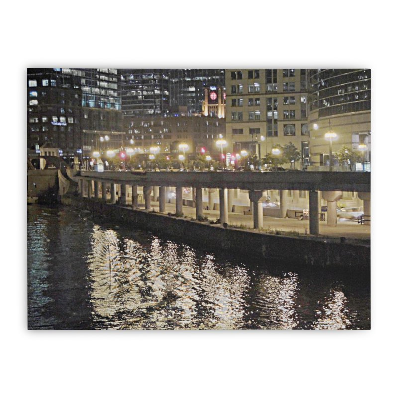 00 IllState Of Mind Lower Wack Home Stretched Canvas by HUNDRED