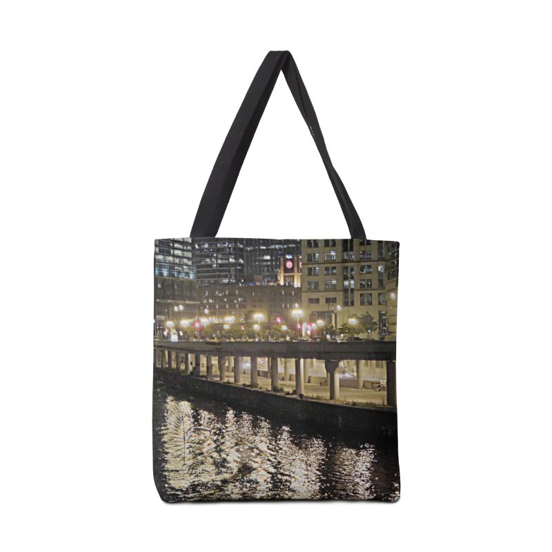 00 IllState Of Mind Lower Wack Accessories Tote Bag Bag by HUNDRED