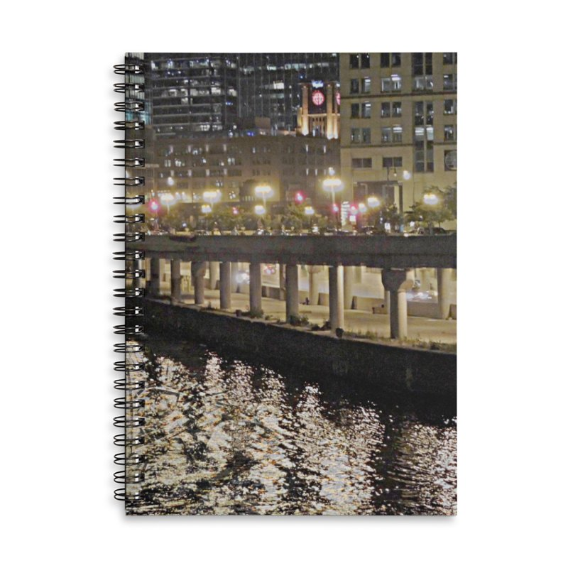 00 IllState Of Mind Lower Wack Accessories Lined Spiral Notebook by HUNDRED