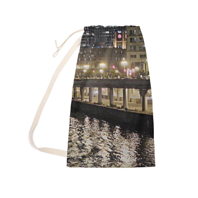 00 IllState Of Mind Lower Wack Accessories Laundry Bag Bag by HUNDRED