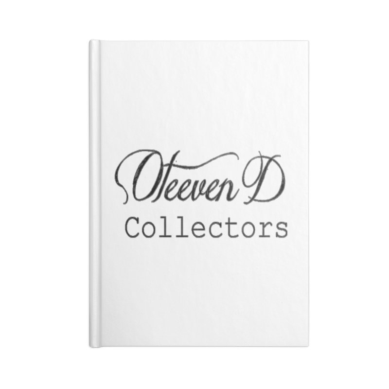 Oteeven D Collectors  Accessories Lined Journal Notebook by HUNDRED