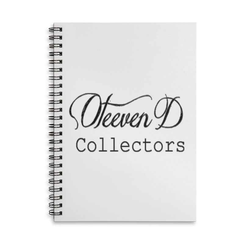 Oteeven D Collectors  Accessories Lined Spiral Notebook by HUNDRED