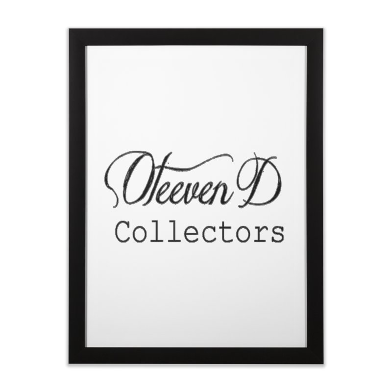 Oteeven D Collectors  Home Framed Fine Art Print by HUNDRED