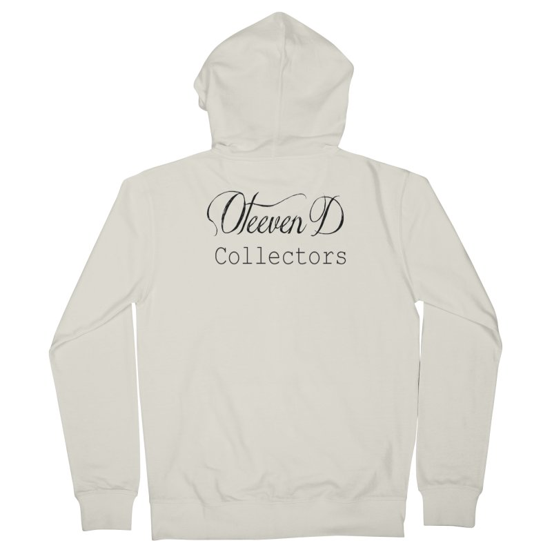 Oteeven D Collectors  Men's French Terry Zip-Up Hoody by HUNDRED