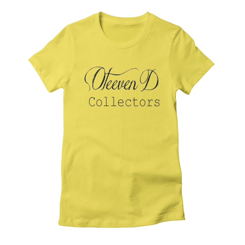 Oteeven D Collectors  Women's Fitted T-Shirt by HUNDRED