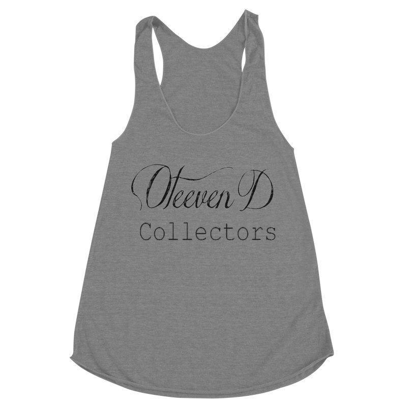 Oteeven D Collectors  Women's Racerback Triblend Tank by HUNDRED